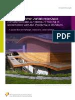 Passivhaus Airtightness Guide