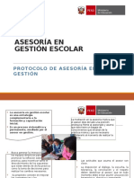 TALLER PROTOCOLO 4 Asesoria Gestion