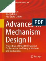 (Mechanisms and Machine Science 44) Jaroslav Beran, Martin Bílek, Petr Žabka (Eds.)-Advances in Mechanism Design II_ Proceedings of the XII International Conference on the Theory of Machines and Mecha