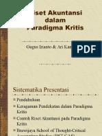 Riset Akuntansi Kritis Irianto Kamayanti