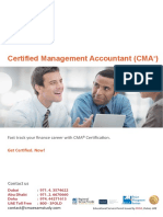 CMA Certification Preparation