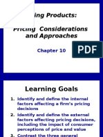 Pricing Products  Pricing  Considerations and Approaches.ppt