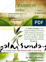 Bishops Homily - Palm Sunday