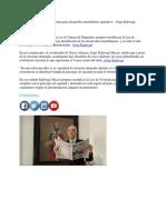 Presenta Nueva Alianza Reforma Para Desarrollo Inmobiliario Equitativo - Jorge Kahwagi