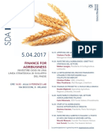 20170405 SDA Bocconi - Finance for Agribusiness