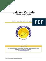 Calcium Carbide Project Report