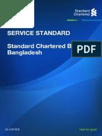 Bd Service Standard