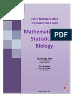 Statistics Teacher Guide