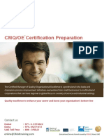 CMQ-Certification Preparation Program-UAE
