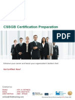 ASQ Six Sigma Green Belt Exam Preparation