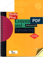 Listening and speaking. Advanced..pdf