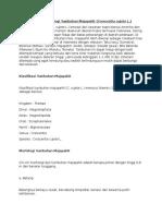 Klasifikasi Dan Morfologi Tumbuhan Majapahit
