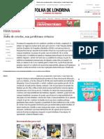 Falta de Creche, Um Problema Crônico - Folha de Londrina - O Jornal Do Paraná - Brasil