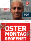 Matchprogramm FC Thun - FC Lausanne-Sport