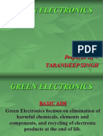 Green Electronics Ppt