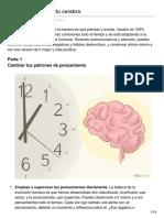 Cómo Reprogramar Tu Cerebro