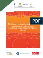 Raport Diagnoza Privind Implementarea SCMI