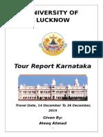 Ateeq Ahmad tour Report Lu-9170179307.docx