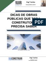 Dicas de Obras Públicas Que Toda Construtora Precisa Saber