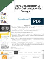 Tema 1 Un Sistema de Clasificación de Los Diseños de Investigacion