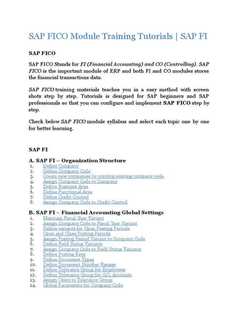 Z SAP FICO Module Training Tutorials | Depreciation | Payments