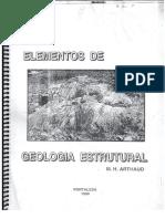 Elementos de Geologia Estrutural - Prof. Michel Arthaud