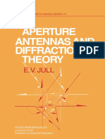 (IEE Electromagnetic Waves Series 10) Jull, E. v-Aperture Antennas and Diffraction Theory-P. Peregrinus on Behalf of the Institution of Electrical Engineers (1981)