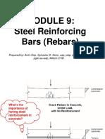 Building Utilities Steel Reinforcement Bars Specifications