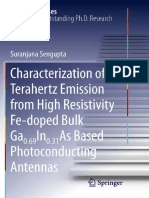 (Springer Theses) Suranjana Sengupta (Auth.)-Characterization of Terahertz Emission From High Resistivity Fe-doped Bulk Ga0.69In0.31As Based Photoconducting Antennas-Springer-Verlag New York (2011)