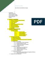 Estructura de Un Proyecto de Inversión