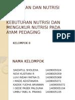 Ilmu Pakan Dan Nutrisi Hewan
