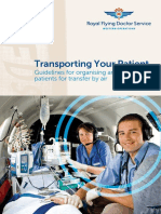 Transporting Your Patient 2nd Ed RFDS Western Operations 2015 With Bookmarks