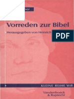 (Kleine Vandenhoeck-Reihe (KVR) Volume 1550) Martin Luther_ Heinrich Bornkamm (Hg.)-Luthers Vorreden Zur Bibel, 3. Aufl. (Kleine Vandenhoeck-Reihe 1550)-Vandenhoeck & Ruprecht (1989)