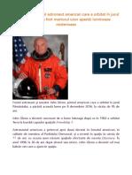 John Glenn, primul astronaut american care a orbitat în jurul Pământului, a fost martorul unor apariții luminoase misterioase