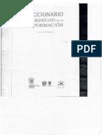 Diccionario de Derecho de La Información
