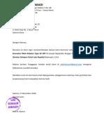 Surat Minat Harga Back Hoe 180