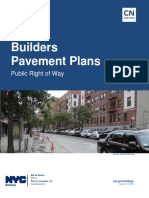 Code Notes Builders Pavement Plans