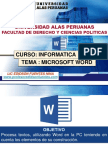 SESION 05 Entorno-Word Tema 02 ---2017 (Actividades)