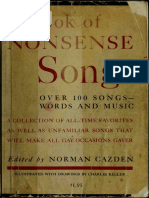 A Book of Nonsense Songs (Art eBook)