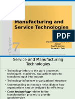 Daft_PPT_Ch07-MANUFACTURING AND SERVICE TECHNOLOGIES