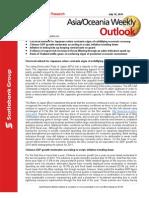 ScotiaBank JUL 16 Asia_Oceania Weekly Outlook