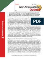 ScotiaBank JUL 16 Latin America Weekly Outlook