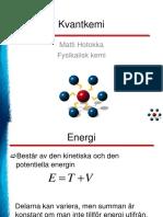 kvantmekanik
