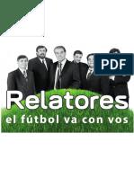 Relatores, la nueva plataforma para seguir el futbol