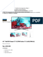 43″ Full Hd Smart Tv k5500 Series 5 Ua43k5500ak – 2