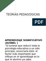 TEORIAS+PEDAGOGICAS