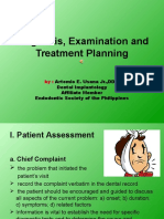 1. Diagnosis, Examination and Treatment Planning