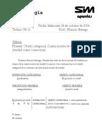 12Gnoseologia - 2 C 2006 -Banega- Objeto Categorial-Cuarta Noción de Verdad-Walton Part12