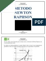 METODO DE NEWTON RAPHSON