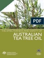 Effectiveness and Safety of Australian Tea Tree Oil-8